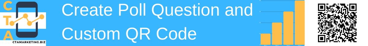Create Poll Question and QR Codes
